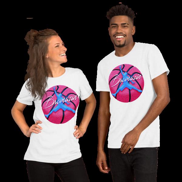 JUMPBRO MIAMI BASKETBALL - BROMAZIN Short-Sleeve Unisex T-Shirt