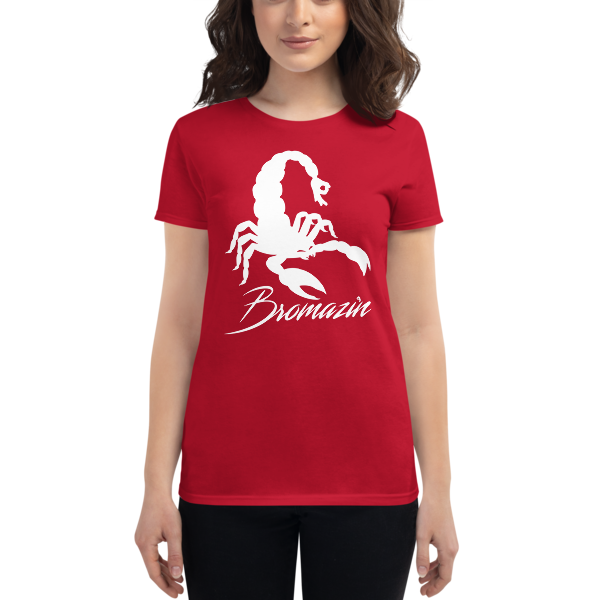 SCORPBROIN - BROMAZIN Women's short sleeve t-shirt
