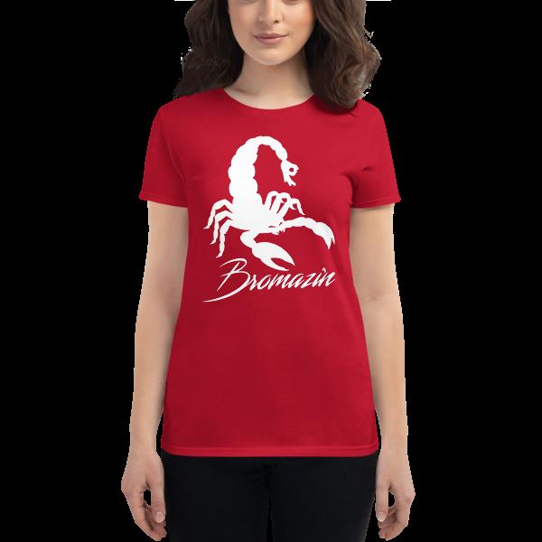 SCORPBROIN - BROMAZIN Women's short sleeve t-shirt