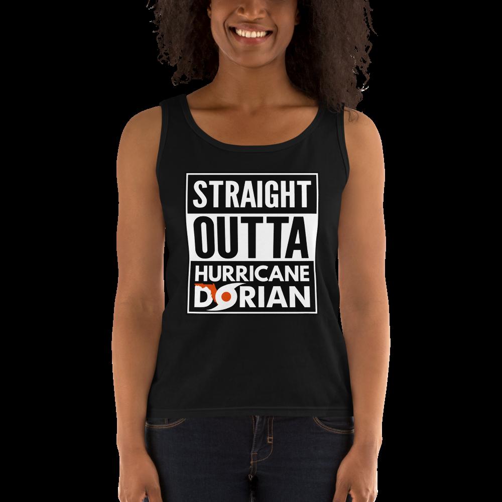 STRAIGHT OUTTA HURRICANE DORIAN - Ladies' Tank