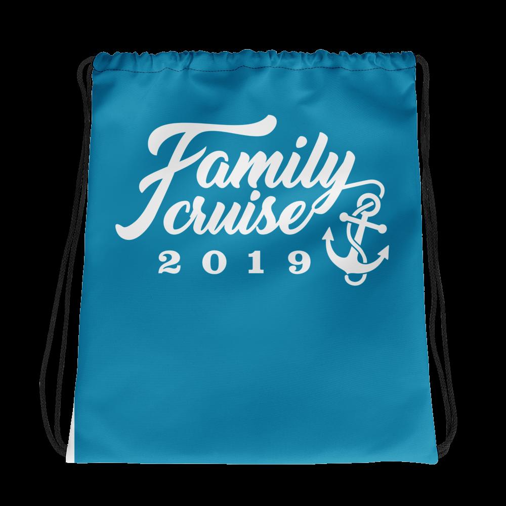 FAMILY CRUISE 2019 Drawstring bag