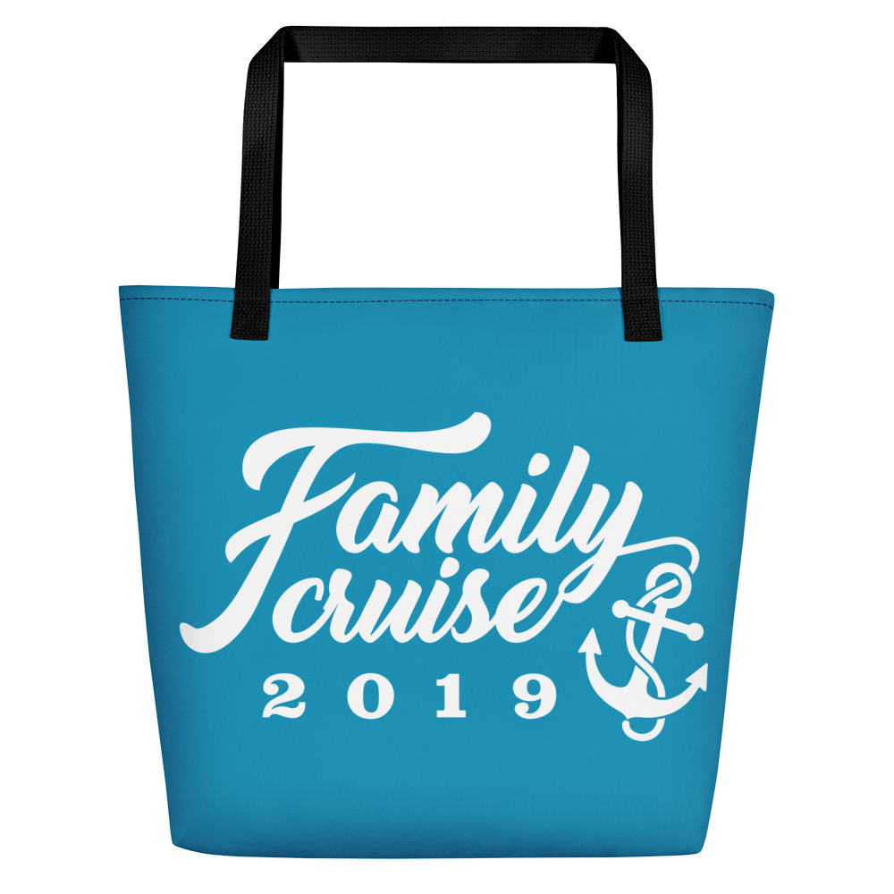 FAMILY CRUISE 2019 Beach Bag