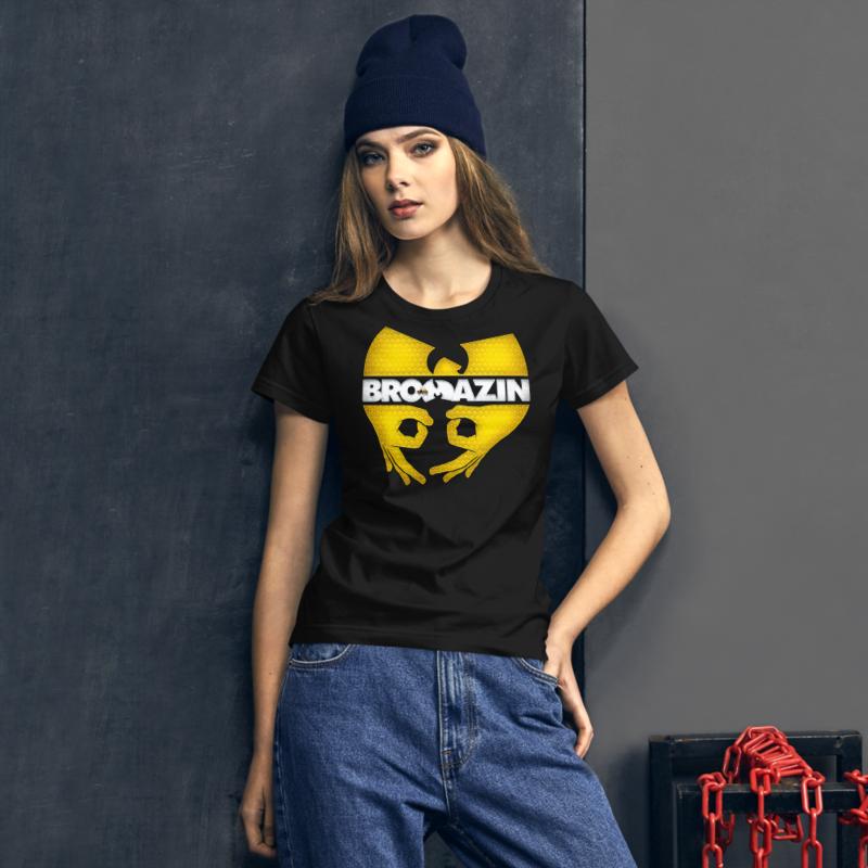 BRO TANG CLAN KILLABEE - WU-TANG KILLER BEE - BROMAZIN Women's short sleeve t-shirt