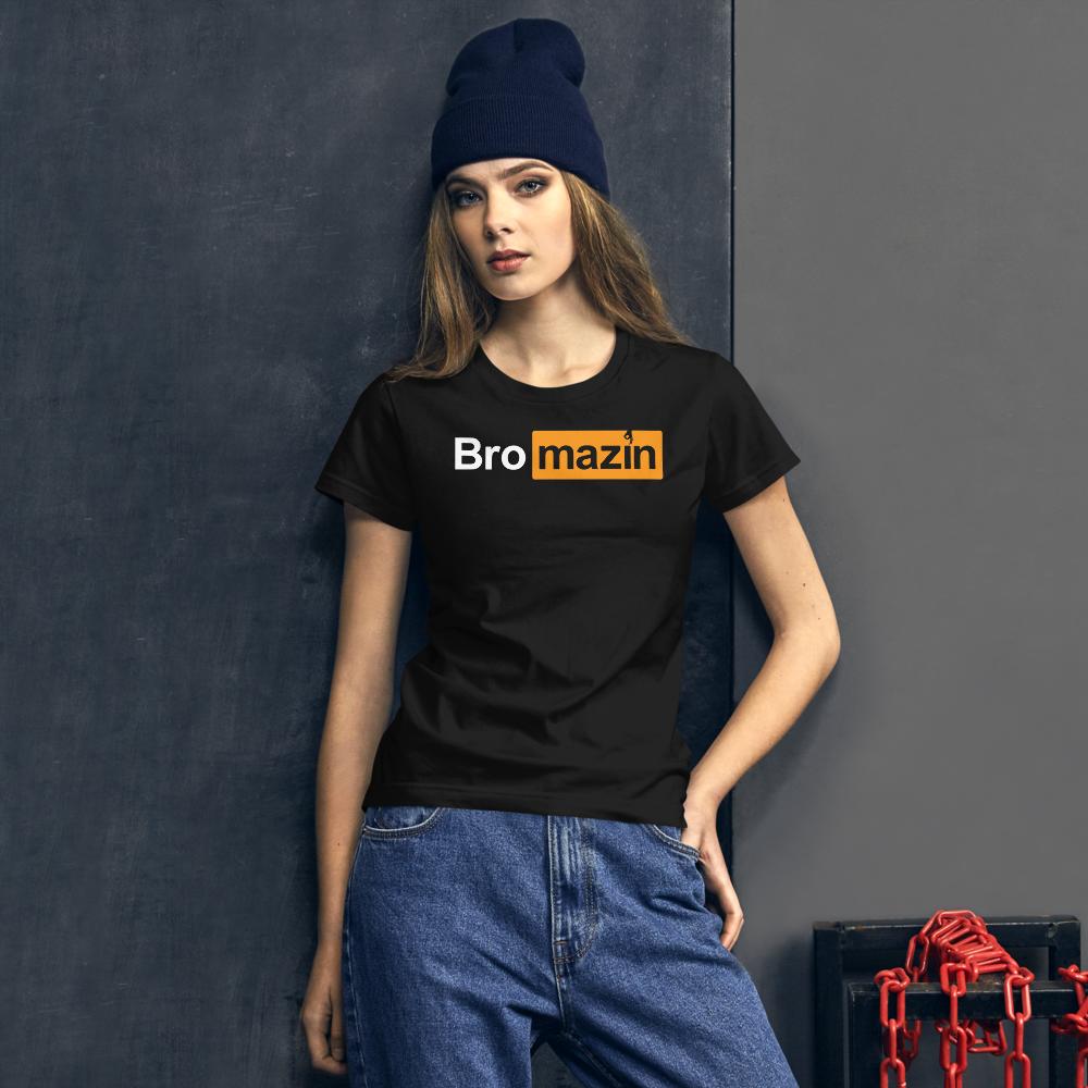 BRO HUB - BROMAZIN Women's short sleeve t-shirt