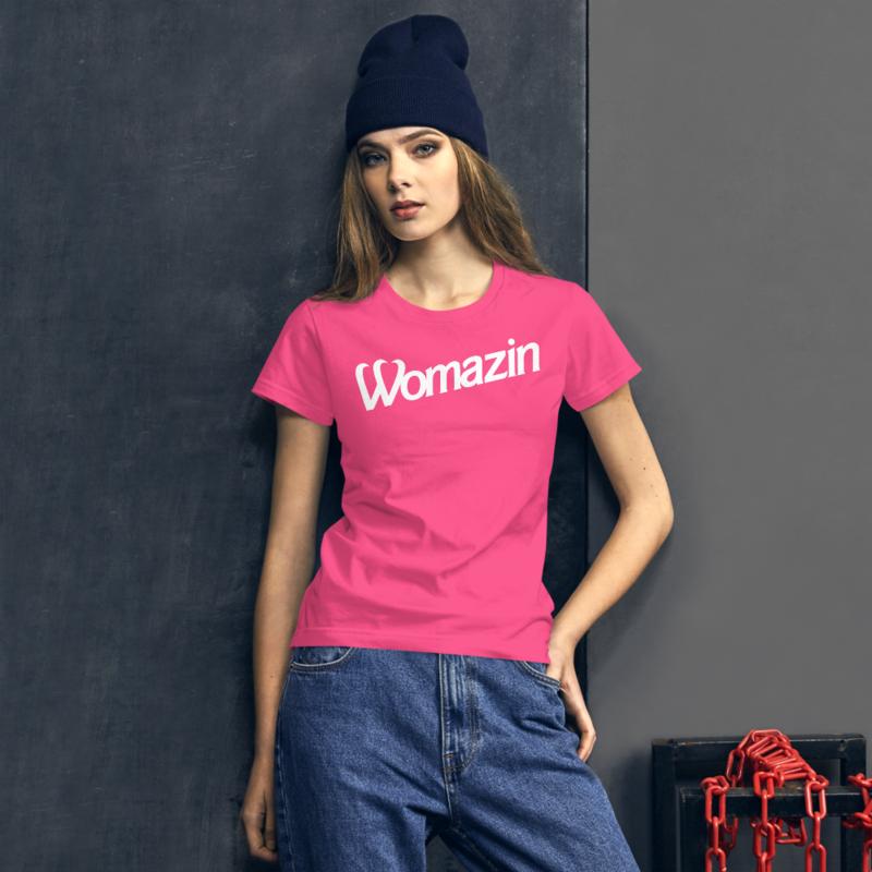 WOMAZIN - BARBIE Women's short sleeve t-shirt
