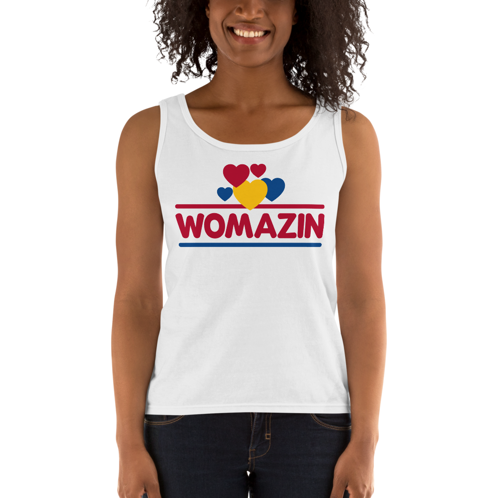 WOMAZIN - WONDER BREAD Ladies' Tank