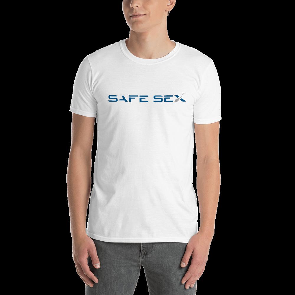 SAFE SEX - SPACE X Short-Sleeve Unisex T-Shirt