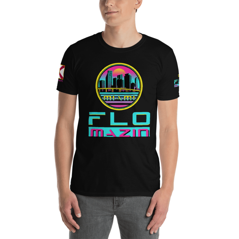FLOMAZIN MIAMI VICE Short-Sleeve Unisex T-Shirt