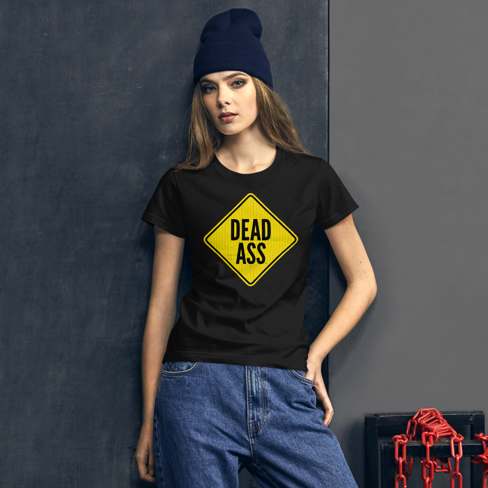 DEAD ASS BRAND Women's short sleeve t-shirt