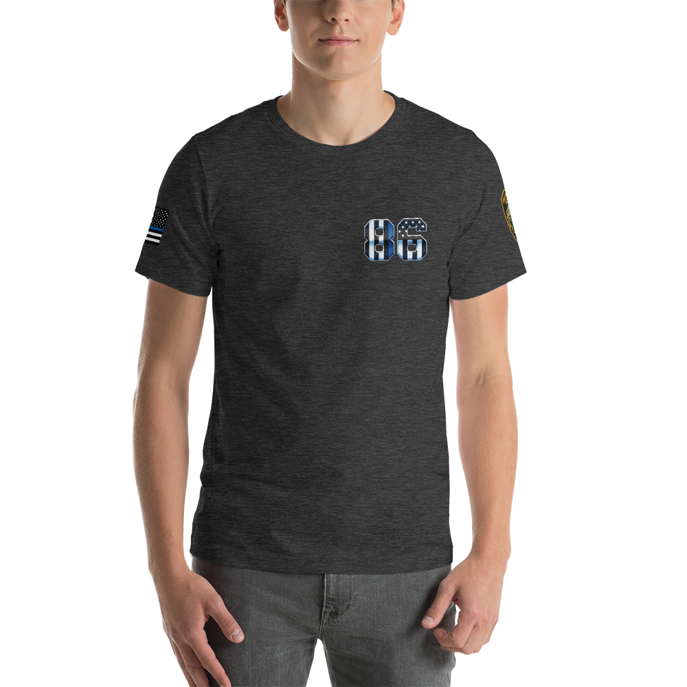 RETIRED 86 Short-Sleeve Unisex T-Shirt