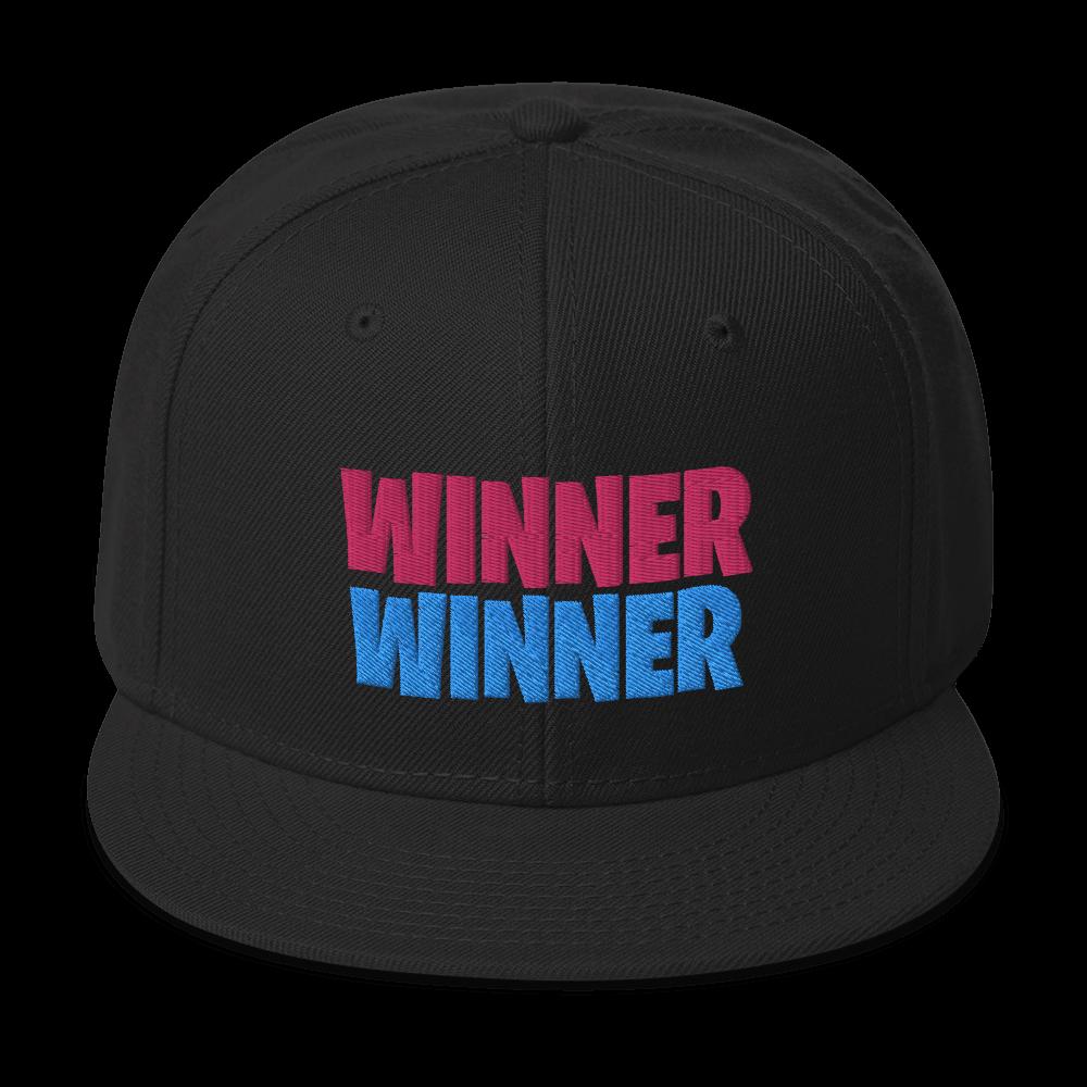 WINNER WINNER Snapback Hat