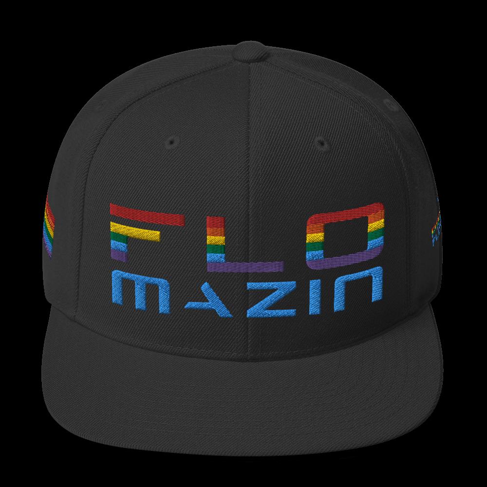 FLOMAZIN FLORIDA LGBTQ PRIDE Snapback Hat