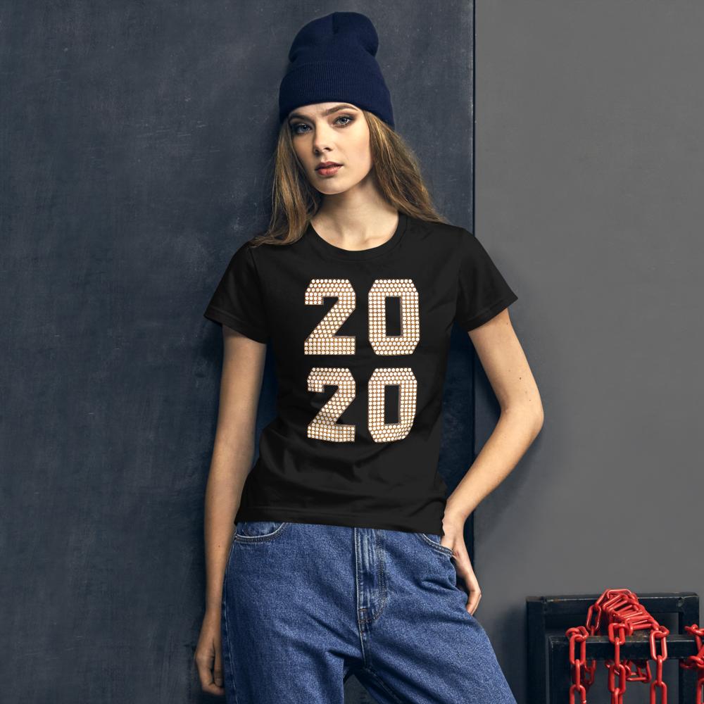 2020 Women's short sleeve t-shirt