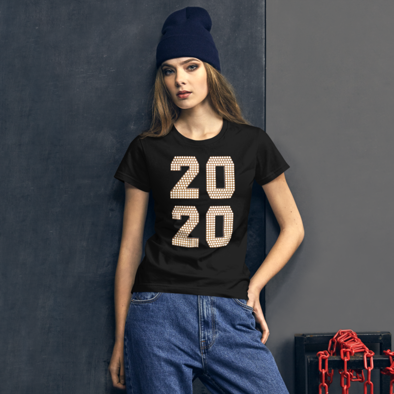 2020 Women's short sleeve t-shirt
