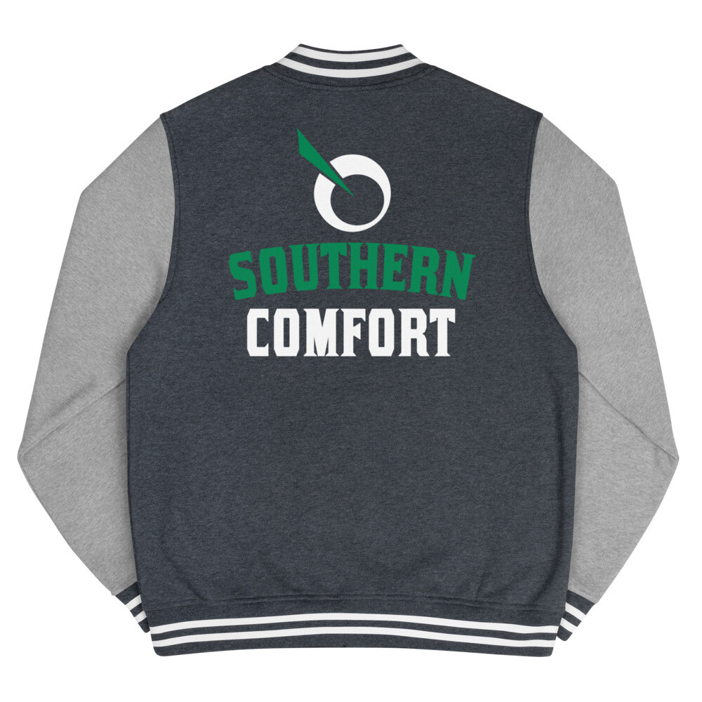 SEATTLE GENETICS SOUTHERN COMFORT Men's Letterman Jacket