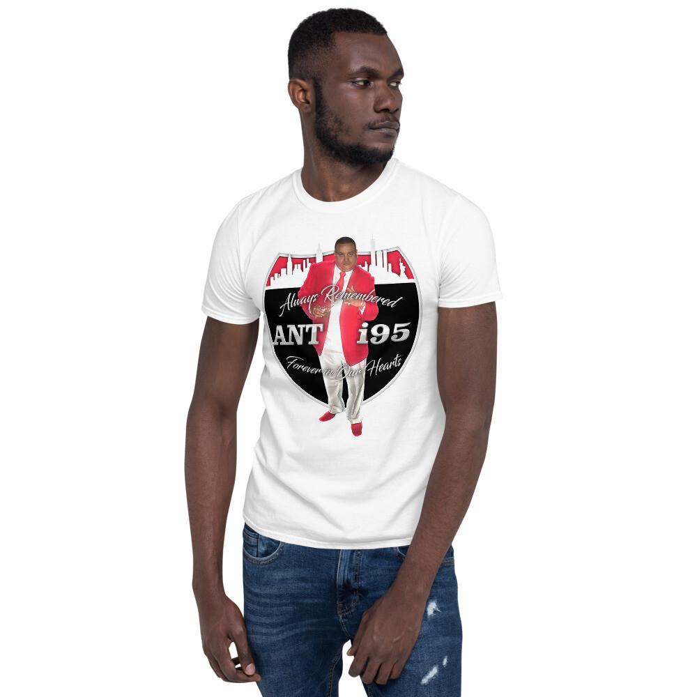 R.I.P. ANTHONY SANTIAGO - ANT i95 Short-Sleeve Unisex T-Shirt