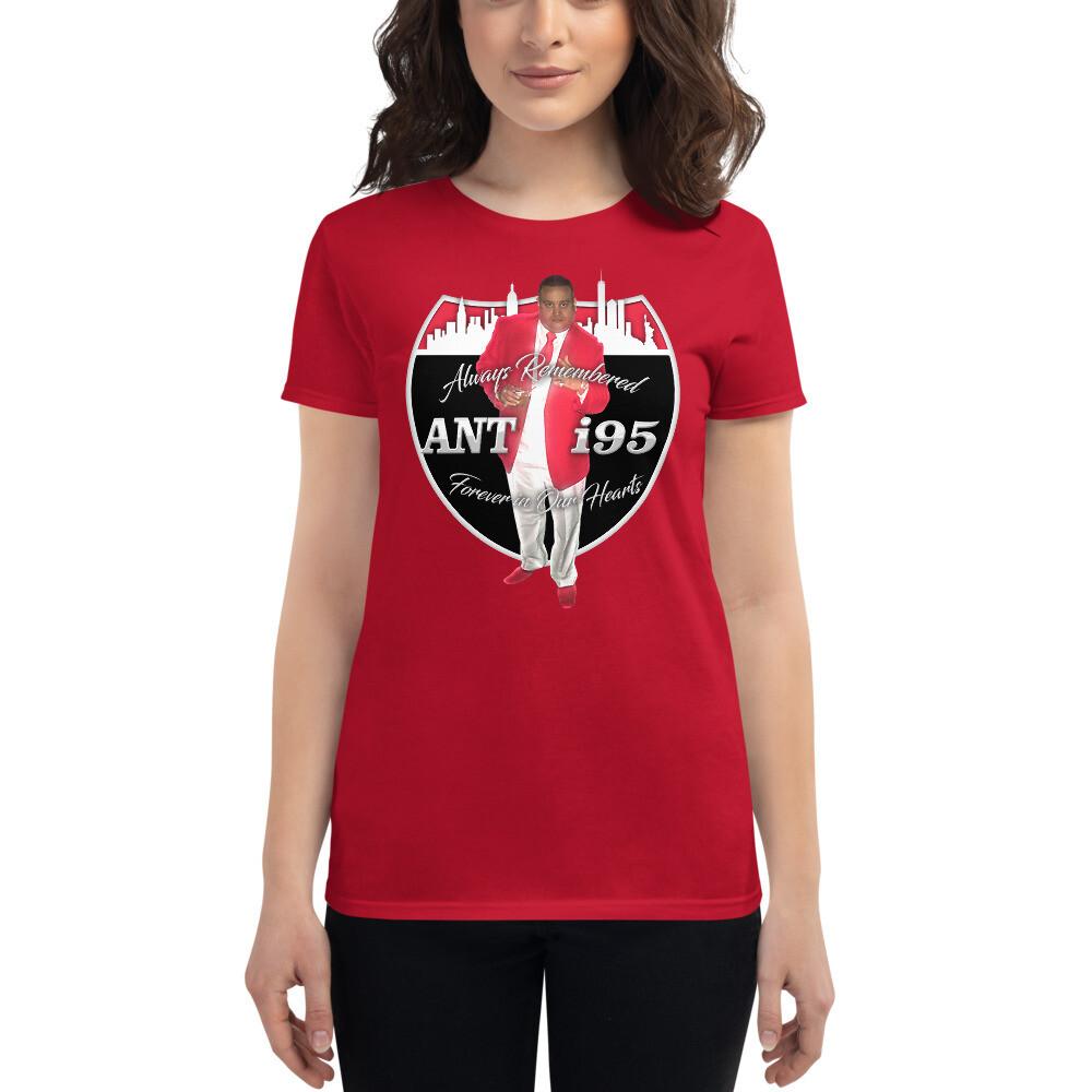 R.I.P. ANTHONY SANTIAGO - ANT i95 Women's short sleeve t-shirt