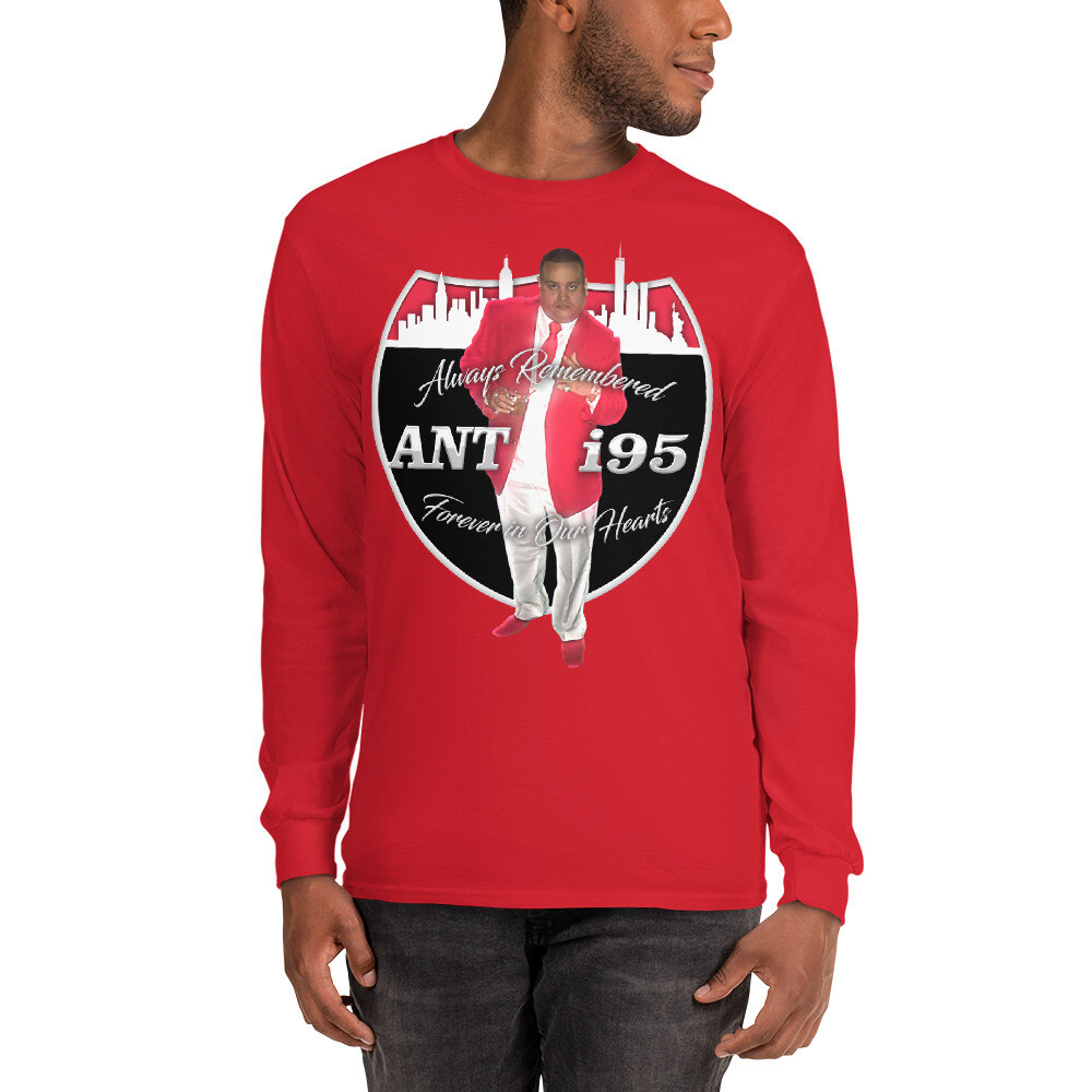 R.I.P. ANTHONY SANTIAGO - ANT i95 Men's Long Sleeve Shirt