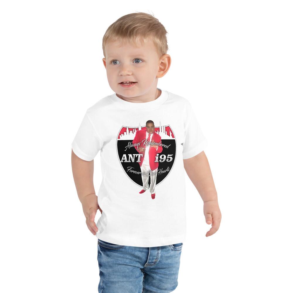 R.I.P. ANTHONY SANTIAGO - ANT i95 Toddler Short Sleeve Tee
