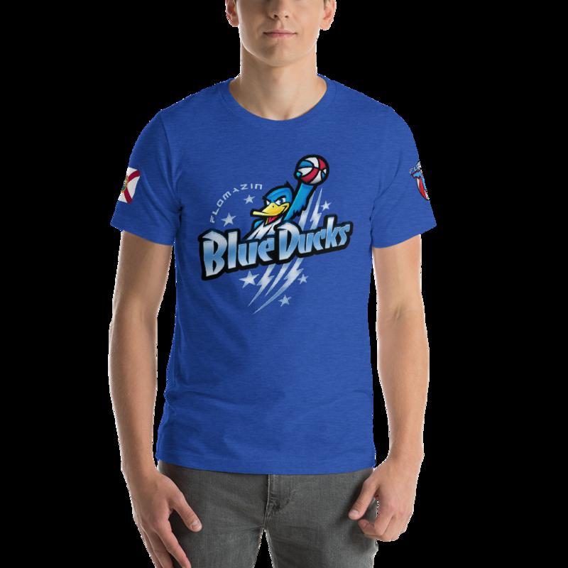 BREVARD BLUE DUCKS - FLOMAZIN Short-Sleeve Unisex T-Shirt