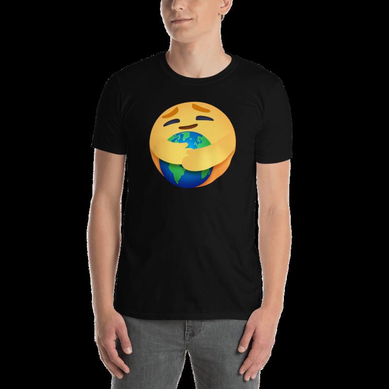 EARTH CARE EMOJI by FLOMAZIN Short-Sleeve Unisex T-Shirt