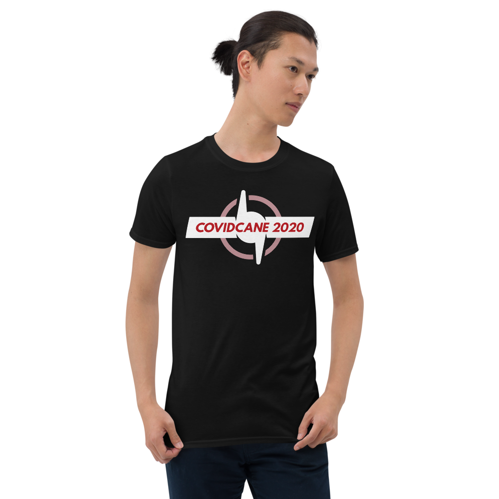 COVIDCANE 2020 - Covid-19 Coronavirus Hurricane Storm Cool Gift Short-Sleeve Unisex T-Shirt #covidcane2020