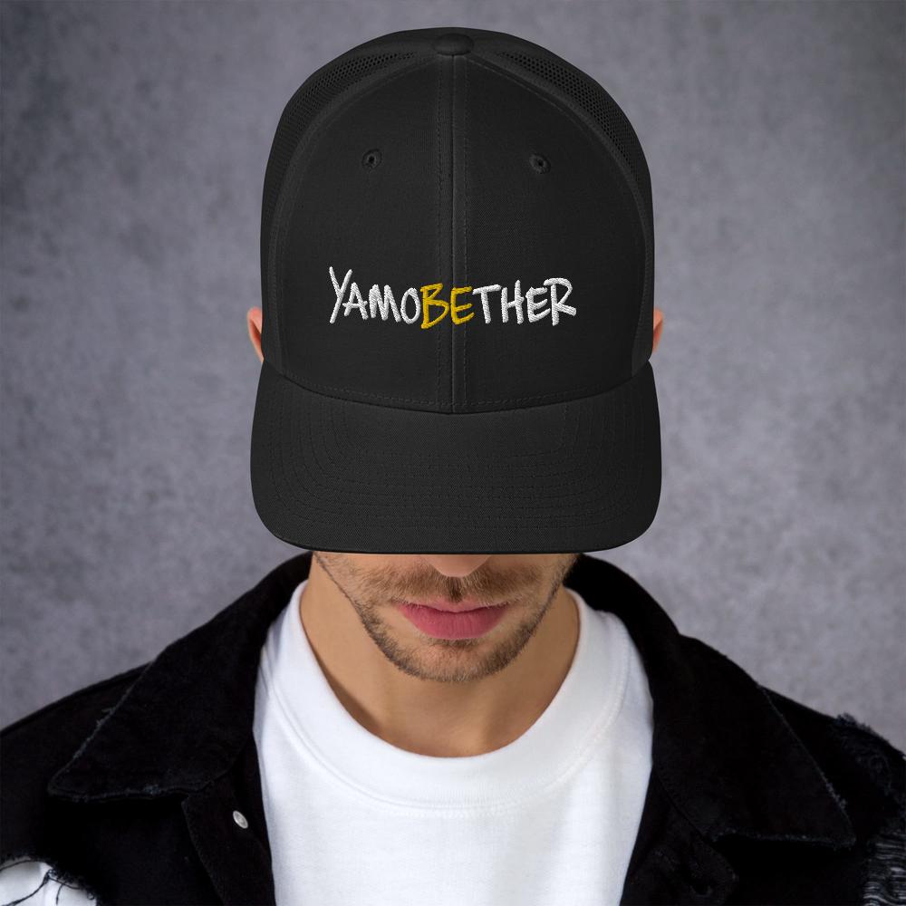 CHEZ QUAN'S YAMOBEHER Trucker Cap