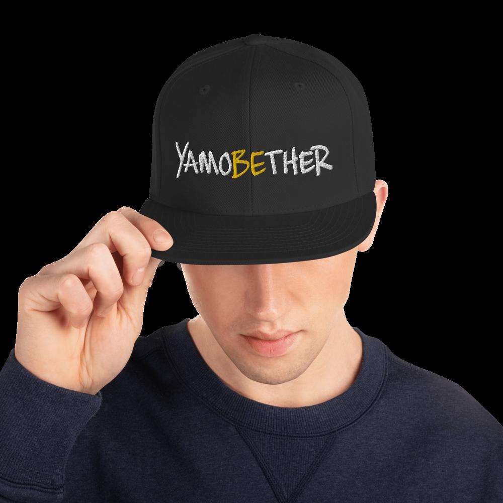 CHEZ QUAN'S YAMOBETHER Snapback Hat