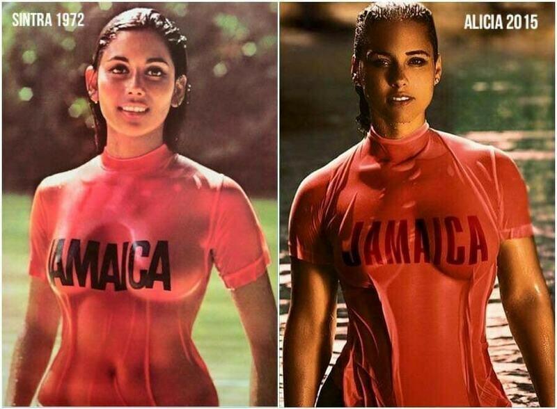 RED JAMAICA Women's short sleeve t-shirt