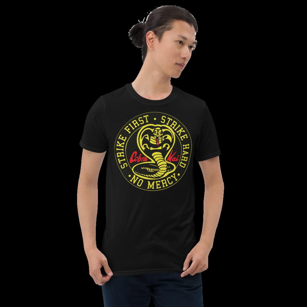 COBRA KAI DOJO VINTAGE LOGO from the KARATE KID Netflix Movie Show Short-Sleeve Unisex T-Shirt
