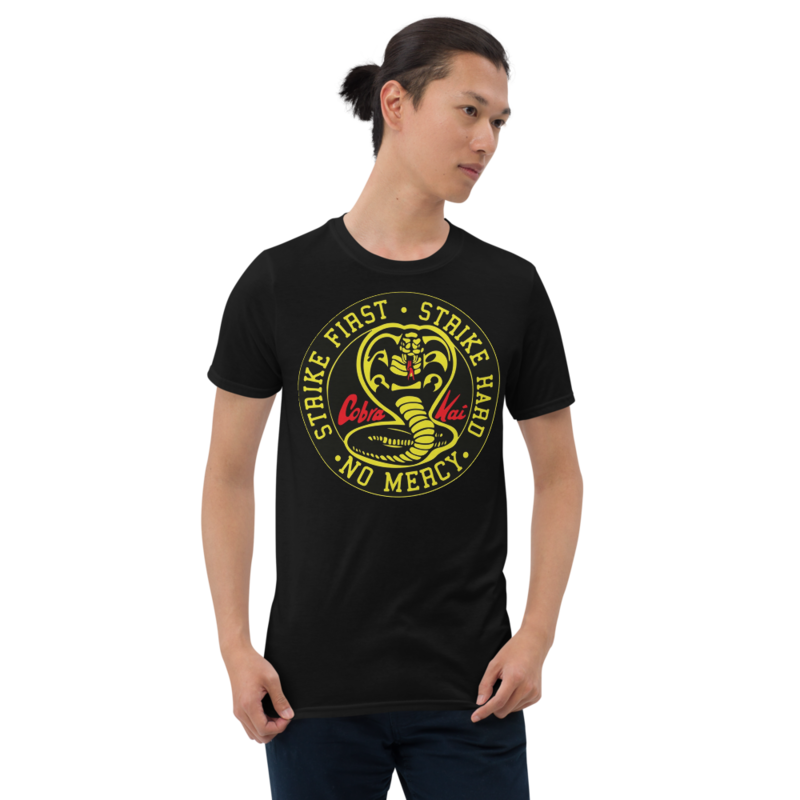 COBRA KAI DOJO VINTAGE LOGO from the KARATE KID Netflix Movie Show Short-Sleeve Unisex T-Shirt