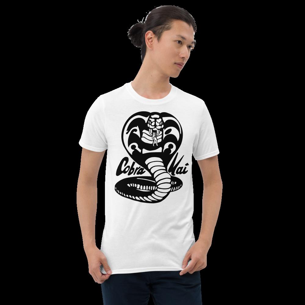 COBRA KAI DOJO VINTAGE LOGO from the COBRA KAI KARATE KID Netflix TV Movie Show Series Short-Sleeve Unisex T-Shirt
