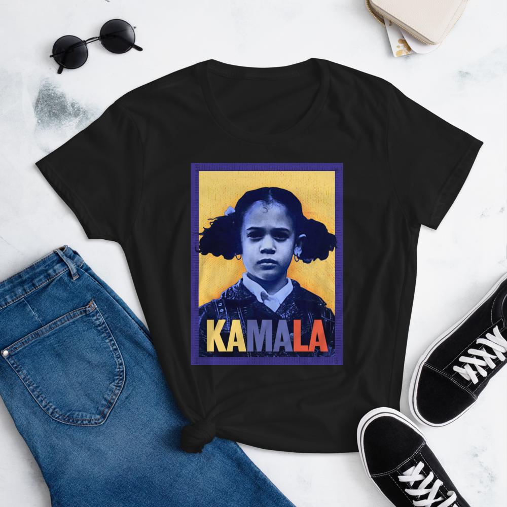KAMALA HARRIS THAT LITTLE GIRL WAS ME Women's Ladies' Short Sleeve Tee T-shirt