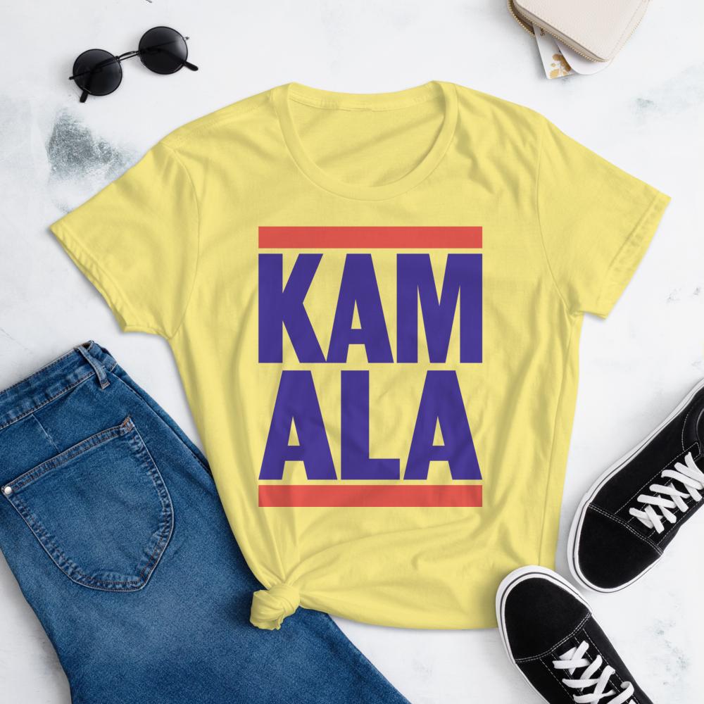 KAMALA HARRIS FOR THE PEOPLE RUN-DMC Style Women's Ladies' Short Sleeve Tee T-shirt