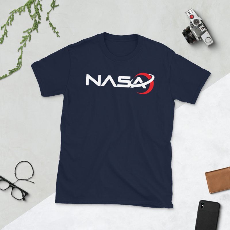 NASA LOGO from the Away Series on Netflix Short-Sleeve Unisex Men's Women's T-Shirt