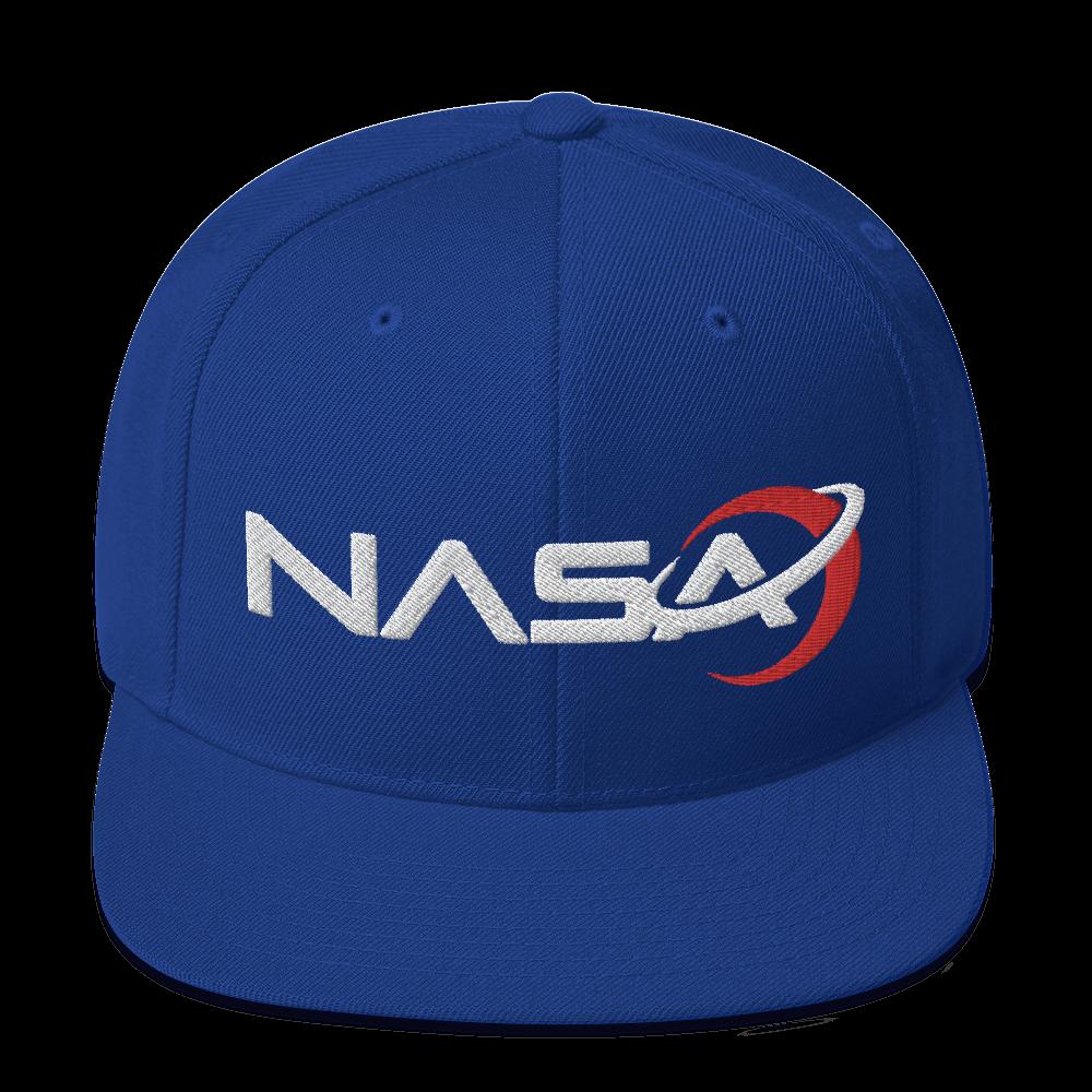 NASA LOGO from the Away Series on Netflix Snapback Hat