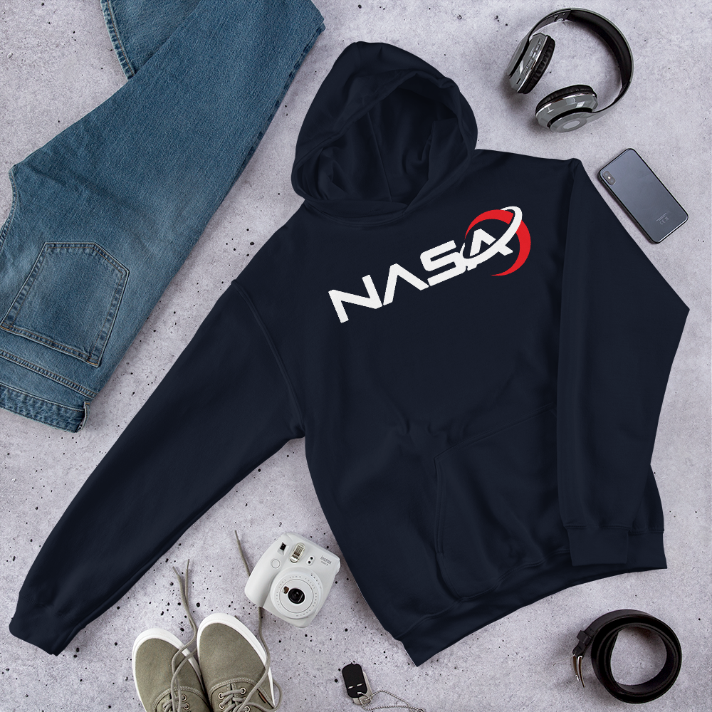NASA LOGO from the Away Series on Netflix Unisex Men's Women's Hoodie
