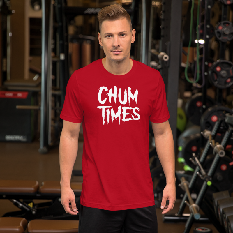 CHUM TIMES Red Short-Sleeve Unisex Men's T-Shirt
