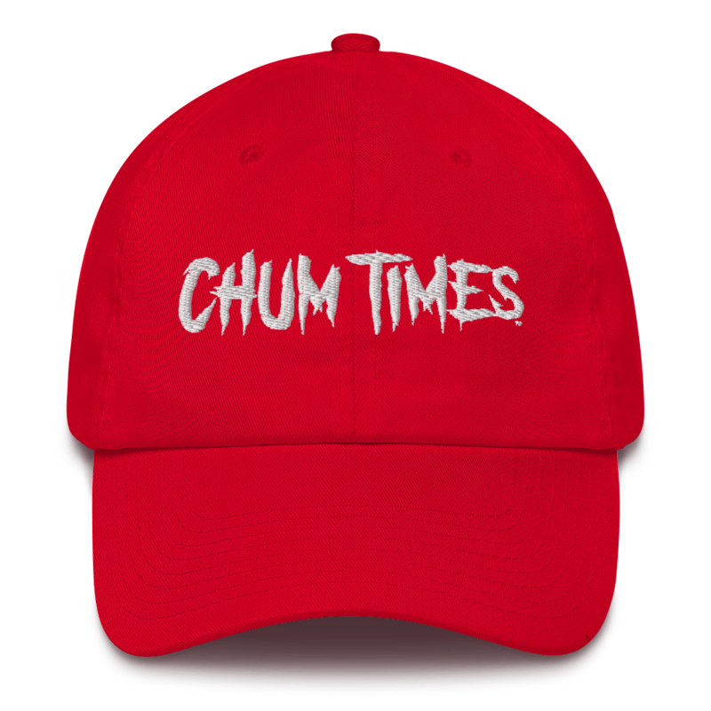 CHUM TIMES Cotton Dad Cap Hat
