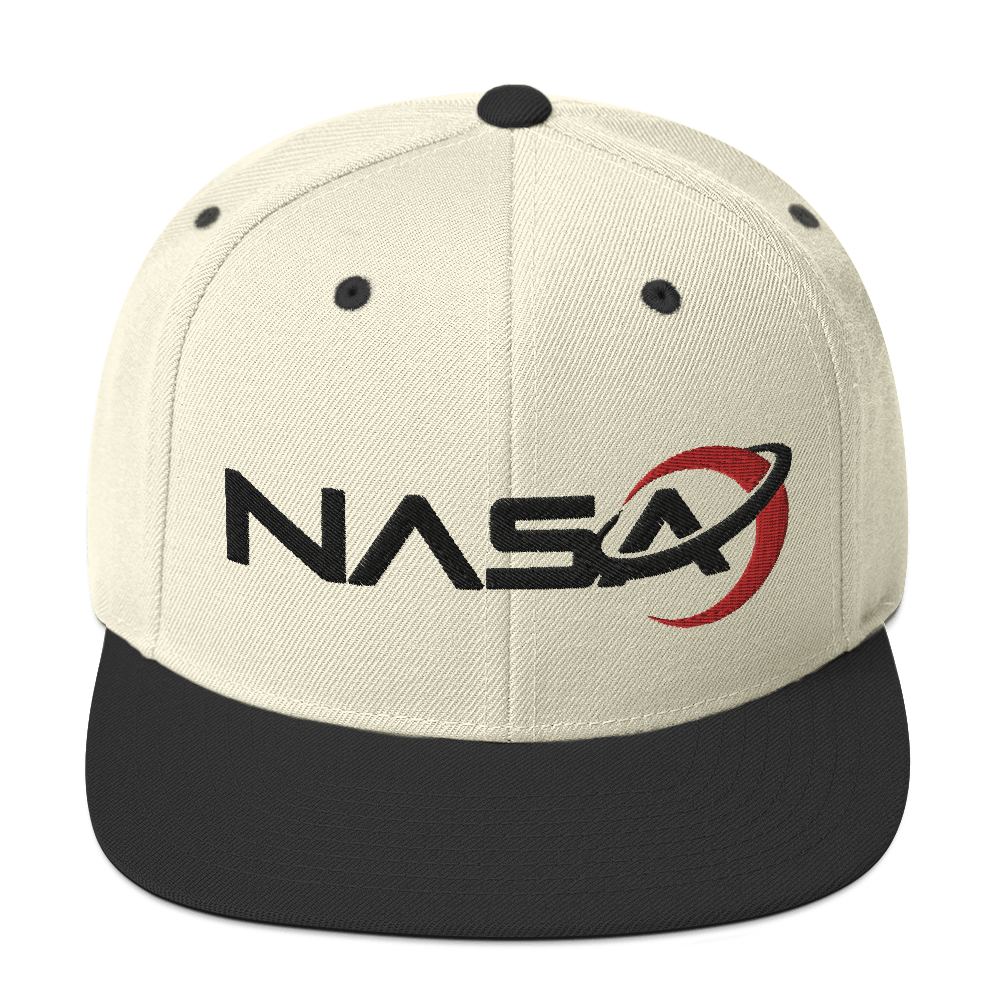 NASA LOGO from the Away Series on Netflix Snapback Hat