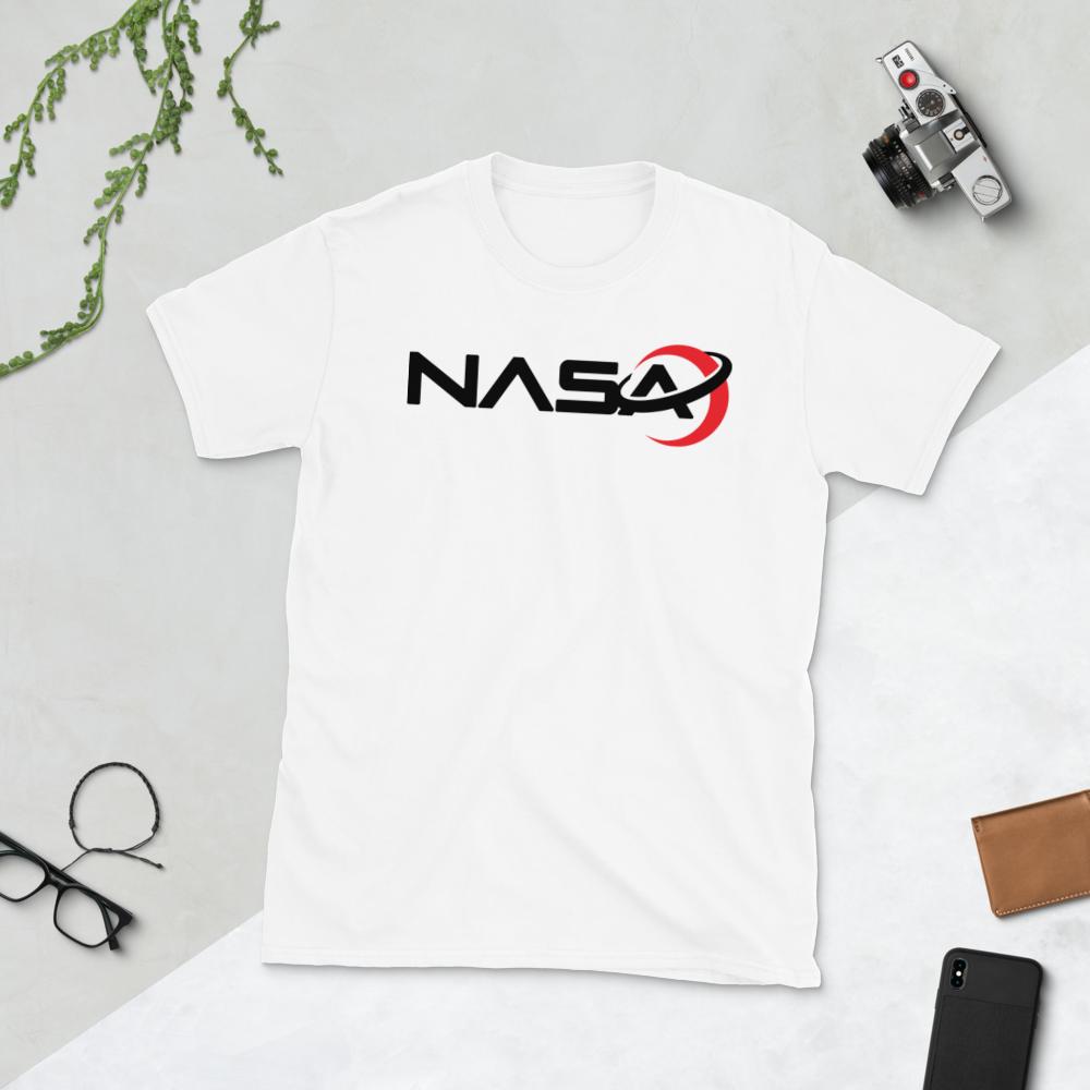 NASA LOGO from the Away Series on Netflix Short-Sleeve Unisex Men's Women's T-Shirt