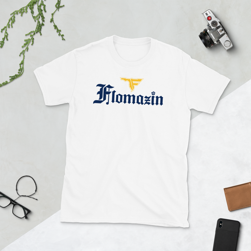 FLOMAZIN FLORONA Short-Sleeve Unisex Men's T-Shirt