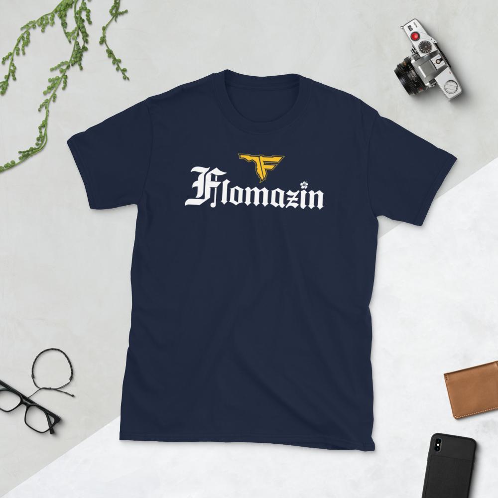 FLOMAZIN FLORONA Short-Sleeve Unisex Men's T-Shirt