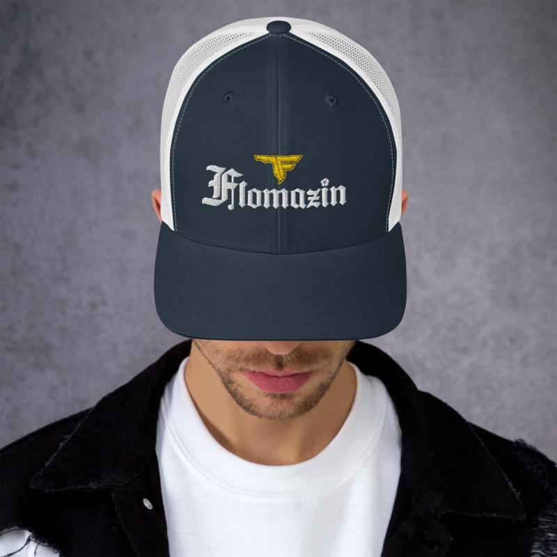 FLOMAZIN FLORONA Trucker Cap Hat