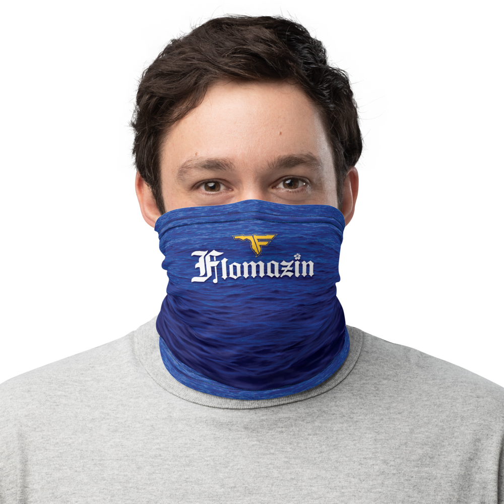 FLOMAZON FLORONA Face Shield Neck Gaiter Mask