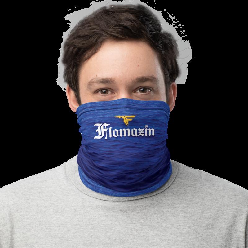 FLOMAZON FLORONA Face Shield Neck Gaiter Mask