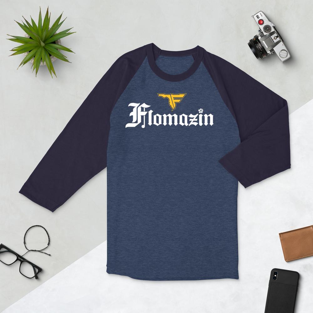 FLOMAZIN FLORONA 3/4 sleeve Raglan Shirt