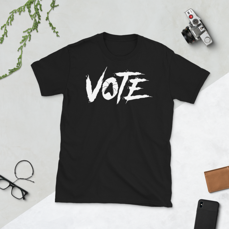 VOTE FLY Short-Sleeve Unisex Men's Women's Tee T-Shirt 2020