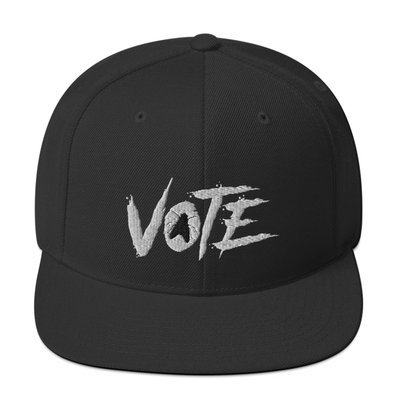 VOTE FLY Snapback Hat Cap 2020