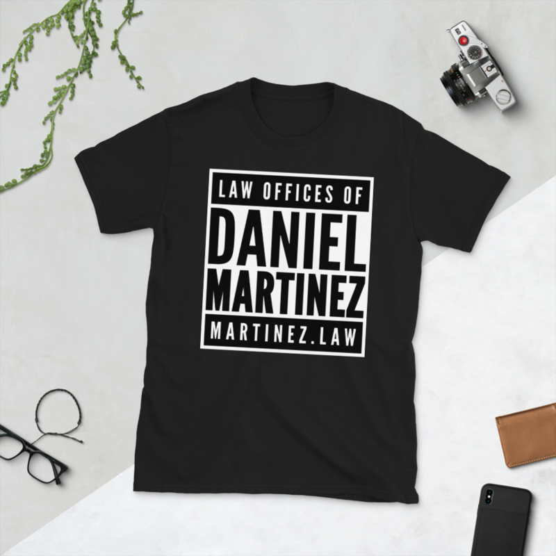 THE LAW OFFICES OF DANIEL MARTINEZ Short-Sleeve Unisex T-Shirt